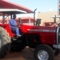 Massey Ferguson previously owned 399 2x4 tractor