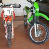 Kdx 200 and crf