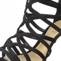Black Genuine Leather Heels ladies for sale - Size 5