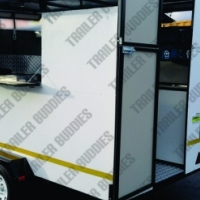 Start your own business and buy a new fully equiped fast food, mobile kitchen.