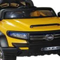 Self Driving Electric Car Jeep + Remote control.