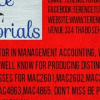 ARE YOU STRUGGLING WITH MANAGEMENT ACCOUNTING UNISA MODULES, MAC2601,MAC2602,MAC3701,MAC3702,MAC3703