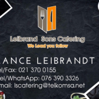 LS Catering Wedding , Spitbraai and Buffy Menus on request