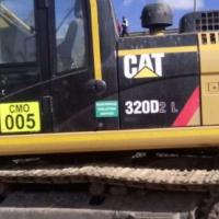 Excavators Caterpillar 320 D 2L