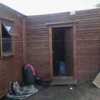 6x9 L - Shaped Wendy House