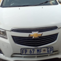GIVE AWAY: 2012 Chevrolet cruze 1.6 for R 85000.00