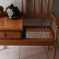 Telephone table - Oak