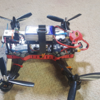 3 Quadcopter, 2 radios and flight sim with radio for sale