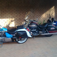 Experience a bike ride as a pillion at R850.00 for the first hour.