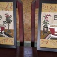 Handgemaakte stained glass muurbehangsels