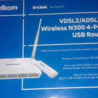 Telkom LTE router to swop.