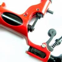 Brand New Professional rotary tattoo gun machine silent shader-liner