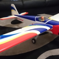 Rc Plane Blackhorse Angel Acrobatics 50 Size