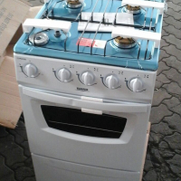 BRAND NEW - 4 PLATE GAS STOVE AND OVEN