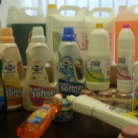 Good quality cleaning products,detergents and toilet paper at very reasonable prices