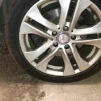 Merc w204 mag wheels for sale