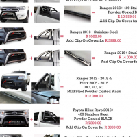 Ford Ranger 2012 - 2016+ Combo Specials Nudge, Rollbar, Steps & Cover