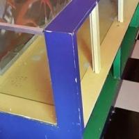 Display cabinets glass