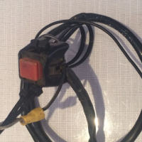 KTM 380 EXC (1998-1999) Engine Stop/Kill/Short Switch with Wiring