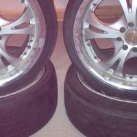 17 inch rims types has +/- 60 % tread
