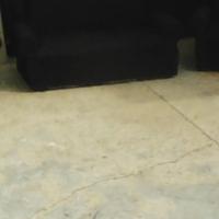 new black 3 piece lounge suite