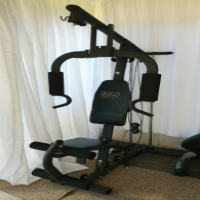 Trojan Solo Performa Multi-Station Gym + Trojan Surge Rowing Machine