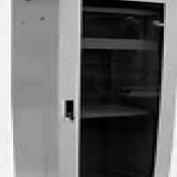 4247Unetworkcabinets/serverracksforsale.Newandused.Alderac,greywithglassdoorand