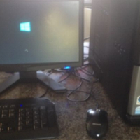 """Acer Desktop + Acer 15"""" Monitor"""
