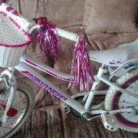 Kiddies girl bicycle