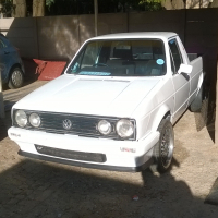 Caddy Bakkie was a project.