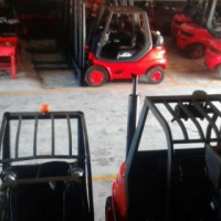 GOOD REFURBISH 3 TON LINDE FORKLIFTS FOR SALE
