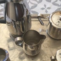 Stainless Steel Coffee and Tea Set