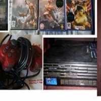 Playstation met remote, memorycard, 3 games