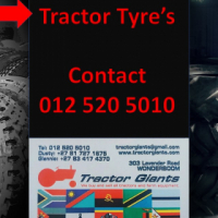 Tyre's-New and Used Tractor Tyres