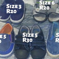 Various baby boy shoes