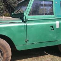 1968 Landrover Series 2a SWB