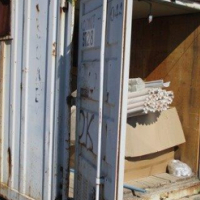 6 Metre Shipping Container & Contents