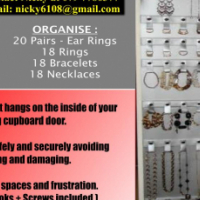 Store jewellery safely and securely