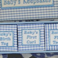 Baby keepsakes goods