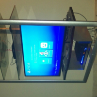 Swivel TV stand for sale or swop