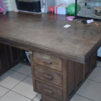 Antique Teak Wooden Table