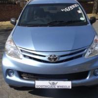 2015 Toyota Avanza 1.3 S in good condition