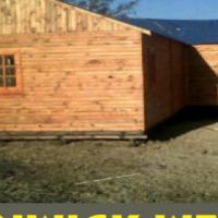 Pallet wood or log school rooms