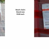 New Beach Chairs