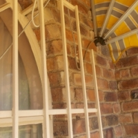 Very big newly built bachelor flat with stoep and small garden in Edleen, Kempton Park