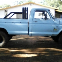 1974 Ford F250 4x4 with Lexus V8 conversion.