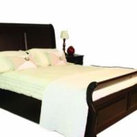 Bedroom set (Headboard, 2x pedestals, Foot-board, Base)