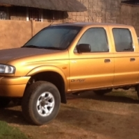 2003 mazda 2.5 4x4 double cab