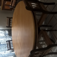 Yellowwood And Imbuia Dining Room Suite