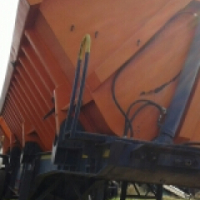 S.A bodies 34cube Side tipper trailer on special